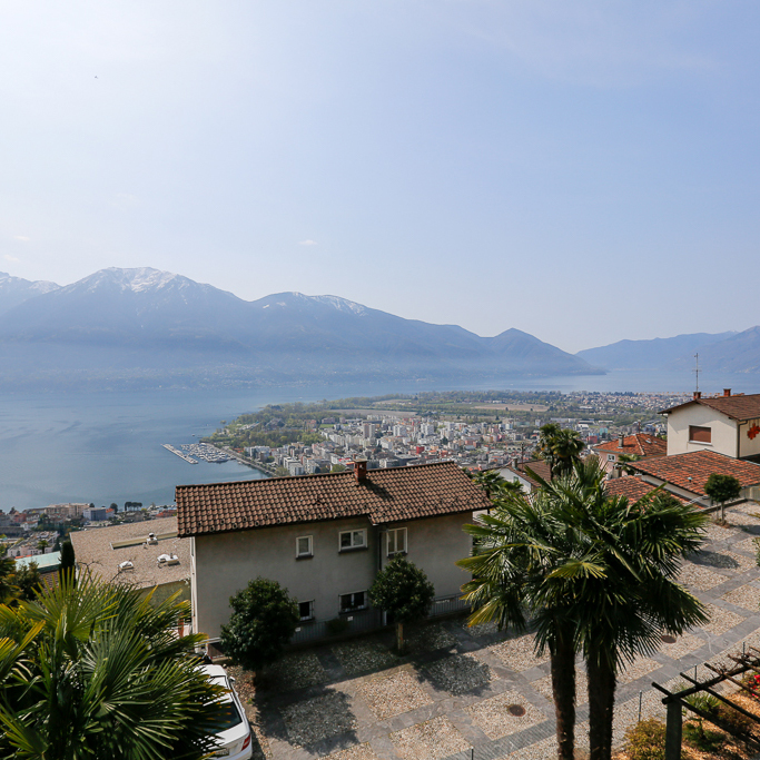 See, Berge und Locarno. Einfach herrlich.